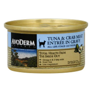 Cat Can Natural Tuna & Crab 3 Oz by Avoderm (4754276909141)
