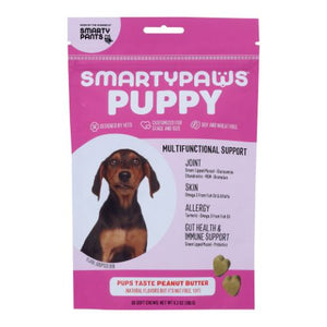 SmartyPaws Five-In-One Wellness Puppy Small Breed 60 Soft Chews by SmartyPants (4754281398357)