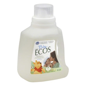 ECOS Baby Hypoallergenic Free & Clear Laundry Detergent 50 Oz by Earth Friendly (4754282741845)