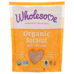 Organic Sucanat 32 Oz by Wholesome (4754283200597)