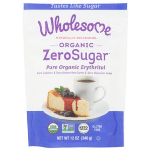 Organic Zero  Sugar Sweetener Calorie Free 12 Oz by Wholesome (4754283462741)