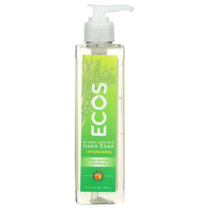 Handsoap Lemongrass 8 Oz by Earth Friendly (4754284773461)