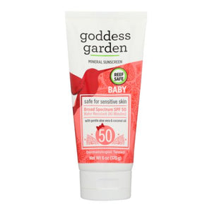 Mineral Sunscreen for Baby SPF 50 6 Oz by Goddess Garden (4754287657045)