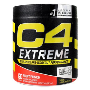 C4 Extreme Fruit Punch 60 Each by Cellucor (4754299060309)