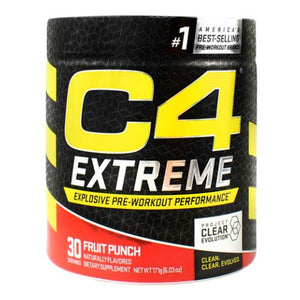 C4 Extreme Fruit Punch 30 Each by Cellucor (4754299158613)