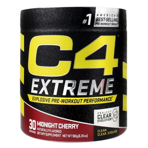 C4 Extreme Midnight Cherry 30 Each by Cellucor (4754299256917)