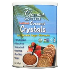Organic Raw Coconut Crystals 12 Oz by Coconut Secret (4754301812821)