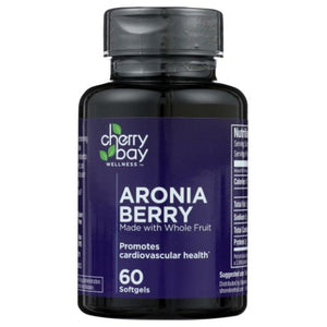 Aronia Berry 60 Softgels by Cherry Bay Orchards (4754075615317)