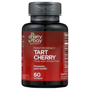 Montmorency Tart Cherry 60 Softgels by Cherry Bay Orchards (4754075746389)