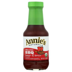 Sweet & Spicy Barbeque Sauce 12 Oz by Annie's Homegrown (4754252824661)