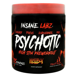 Hellboy Psychotic Fruit Punch 8.7 Oz by Insane Labz (4754261835861)