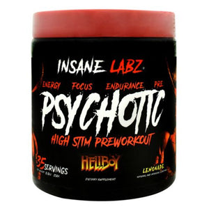 Hellboy Psychotic Lemonade 8.8 Oz by Insane Labz (4754261901397)
