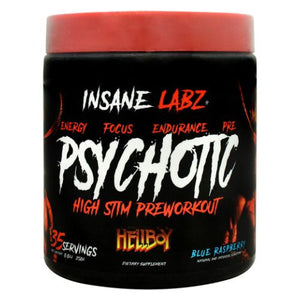 Hellboy Psychotic Blue Raspberry 8.8 Oz by Insane Labz (4754261966933)