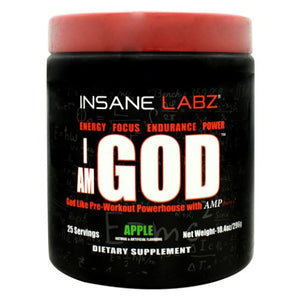 I Am God Apple 10.4 Oz by Insane Labz (4754261999701)