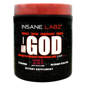 I Am God Drink Ye All of It 10.3 Oz by Insane Labz (4754262032469)