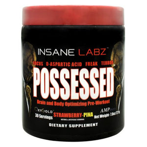 Possessed Strawberry-Pina 7.8 Oz by Insane Labz (4754262327381)