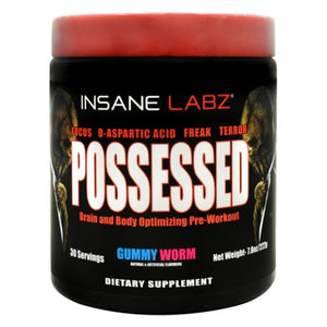 Possessed Gummy Worm 7.8 Oz by Insane Labz (4754262360149)