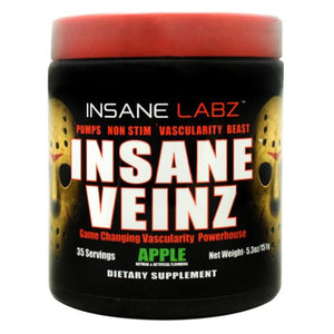 Insane Veinz Apple 5.3 Oz by Insane Labz (4754262425685)