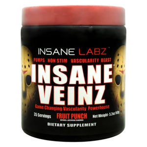 Insane Veinz Fruit Punch 5.3 Oz by Insane Labz (4754262491221)
