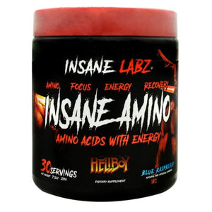 Insane Amino Blue Raspberry 7.5 Oz by Insane Labz (4754262655061)