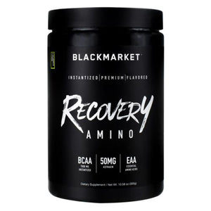 Recovery Amino Cucumber Lemon 300 Grams by Black Market Labs (4754269601877)