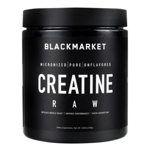 Raw Creatine Unflavored 300 Grams by Black Market Labs (4754269765717)