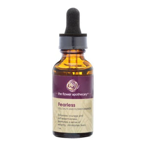 Fearless Flower Essence 1 Oz by The Flower Apothecary (4754281562197)