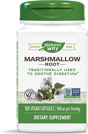 Marshmallow ORGANIC,100 CAP by Nature's Way (2584008818773)