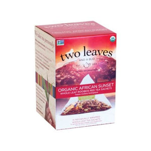Organic African Sunset Tea 15 Bags by Two Leaves And A Bud (4754099601493)