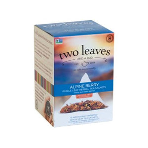 Alpine Berry Tea 15 Bags by Two Leaves And A Bud (4754099667029)