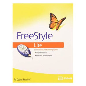 Freestyle Lite Blood Glucose Monitoring System 1 each by Freestyle (4753942347861)
