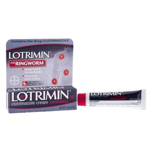 Lotrimin Af For Ringworm Cream 0.4 oz by Claritin (4753943167061)