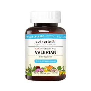 Valerian 425 mg 50 Caps by Eclectic Institute Inc (4754029379669)