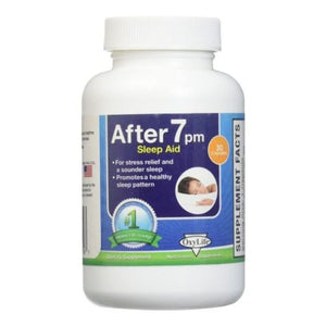 After 7 PM Sleep Aid 30 Veg Caps by Oxylife Products (4754056052821)