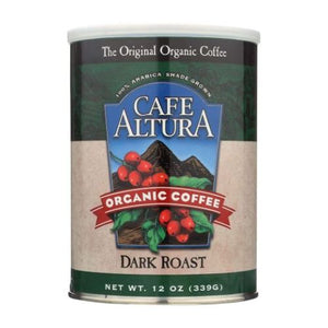 Dark Roast Ground Coffee 12 Oz by Cafe Altura (4754068406357)