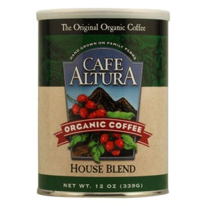 House Blend Ground Coffee 12 Oz by Cafe Altura (4754068439125)
