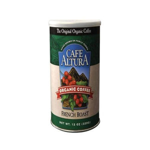 French Roast Ground Coffee 12 Oz by Cafe Altura (4754068668501)