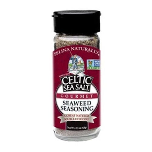 Sea Salt Seaweed Seasoning 2.7 Oz by Celtic Sea Salt