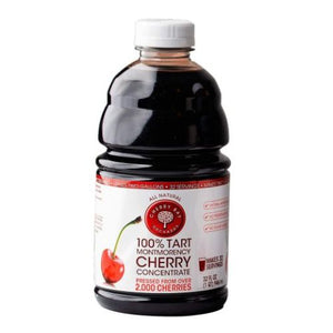 100% Tart Montmorency Cherry Concentrate 32 Oz by Cherry Bay Orchards (4754075549781)