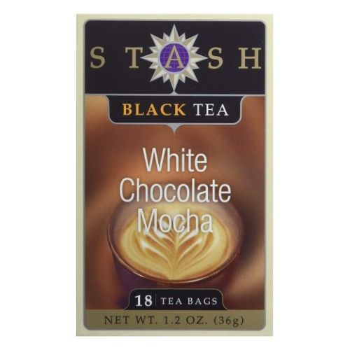 Black Tea White Chocolate Mocha 18 Count by Stash Tea