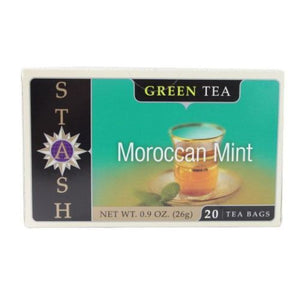Green Tea Moroccan Mint 20 Count by Stash Tea (4754078269525)