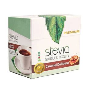 Caramel Delicioso Stevia Powder 40 Count by Anumed International (4754079744085)