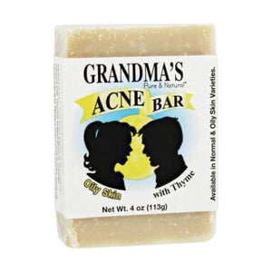Acne Bar for Oily Skin 4 Oz by Grandmas Pure & Natural (4754096947285)