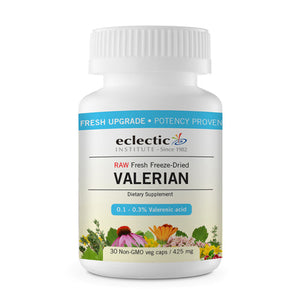 Valerian officinalis 30 Caps by Eclectic Institute Inc (2584044765269)
