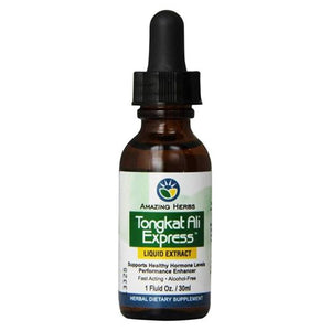 Black Seed Tongkat Ali Express Liquid Extract 1 oz by Amazing Herbs