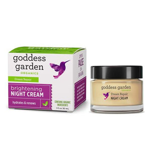 Nighttime Cream - Dream Repair 1 oz by Goddess Garden (2588340879445)