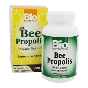 Bee Propolis 60 Caps by Bio Nutrition Inc (2614593650773)