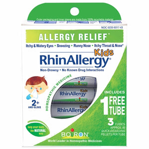 RhinAllergy Kids 3 Count by Boiron