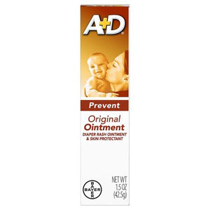 A+D Diaper Rash Ointment & Skin Protectant Original 1.5 Oz by A+D (4754184667221)