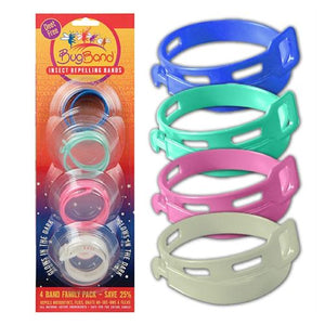 Insect Repellent Bands 4 Count by BugBand (4754247123029)